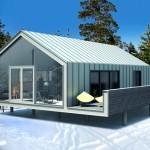 каркасно-модульный дом
