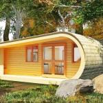 необычный дачный домик