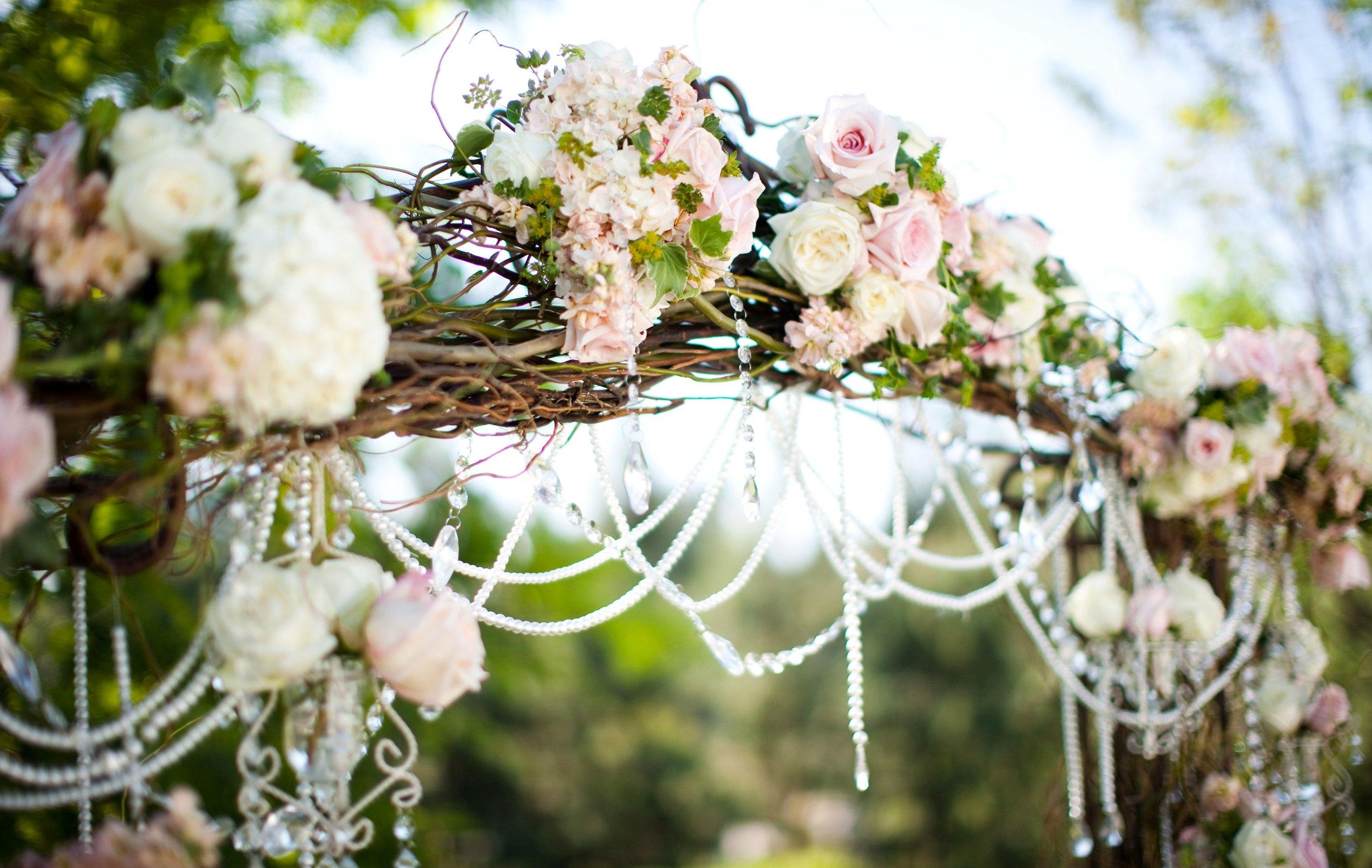 Арка жениха и невесты своими руками фото 232