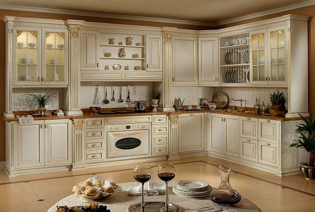 современные кухни в классическом стиле