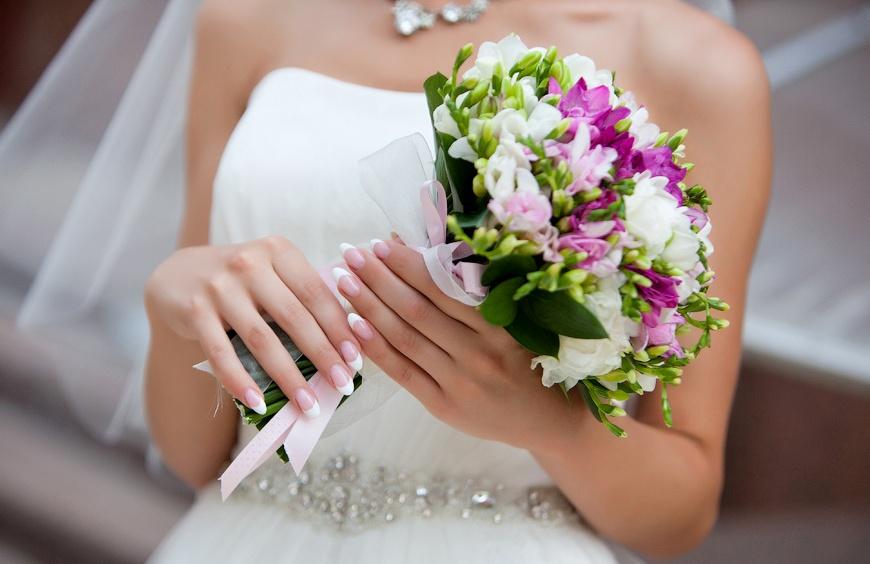 флористика свадебный букет