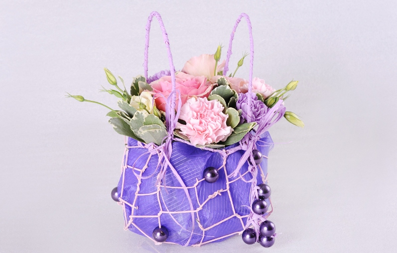 флористика сумочка