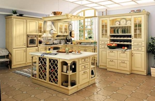 кухня классическая Италия