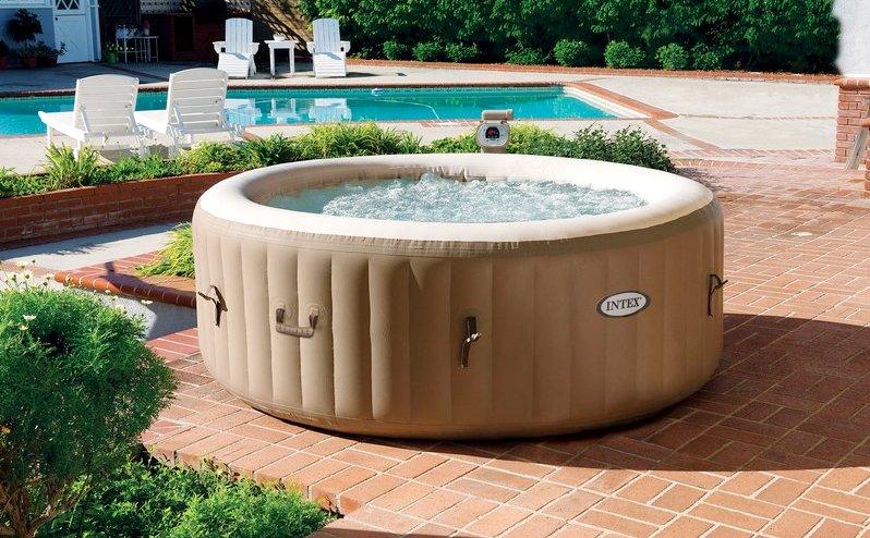 надувной бассейн джакузи