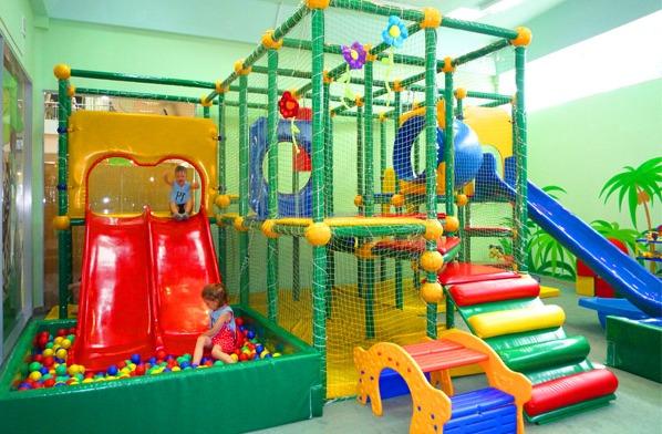 надувной детский игровой центр батут