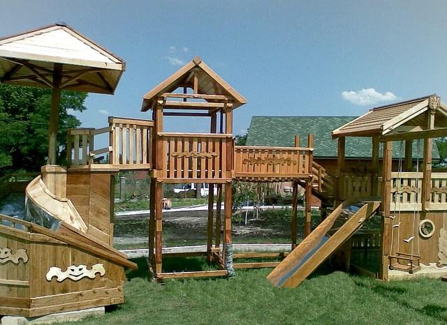 объекты ландшафтного дизайна детская площадка