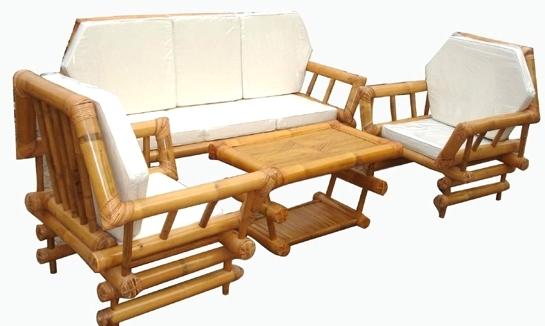 Плетеная мебель из бамбука