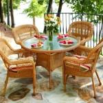 Плетеная мебель из ивовой лозы