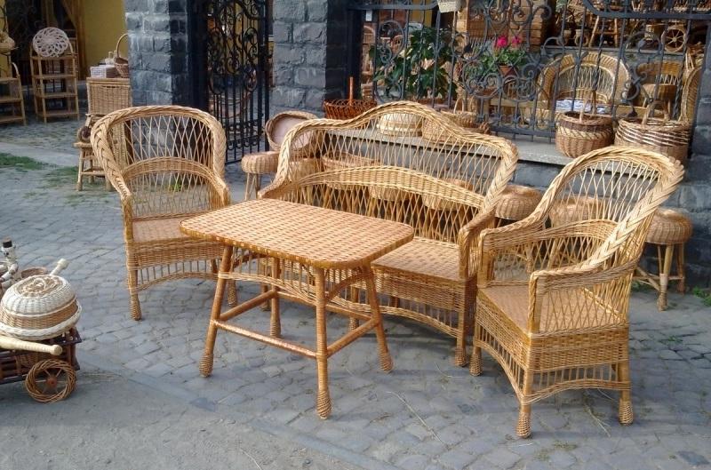 Плетеная мебель из ивы