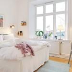 Скандинавский стиль в интерьере квартиры7
