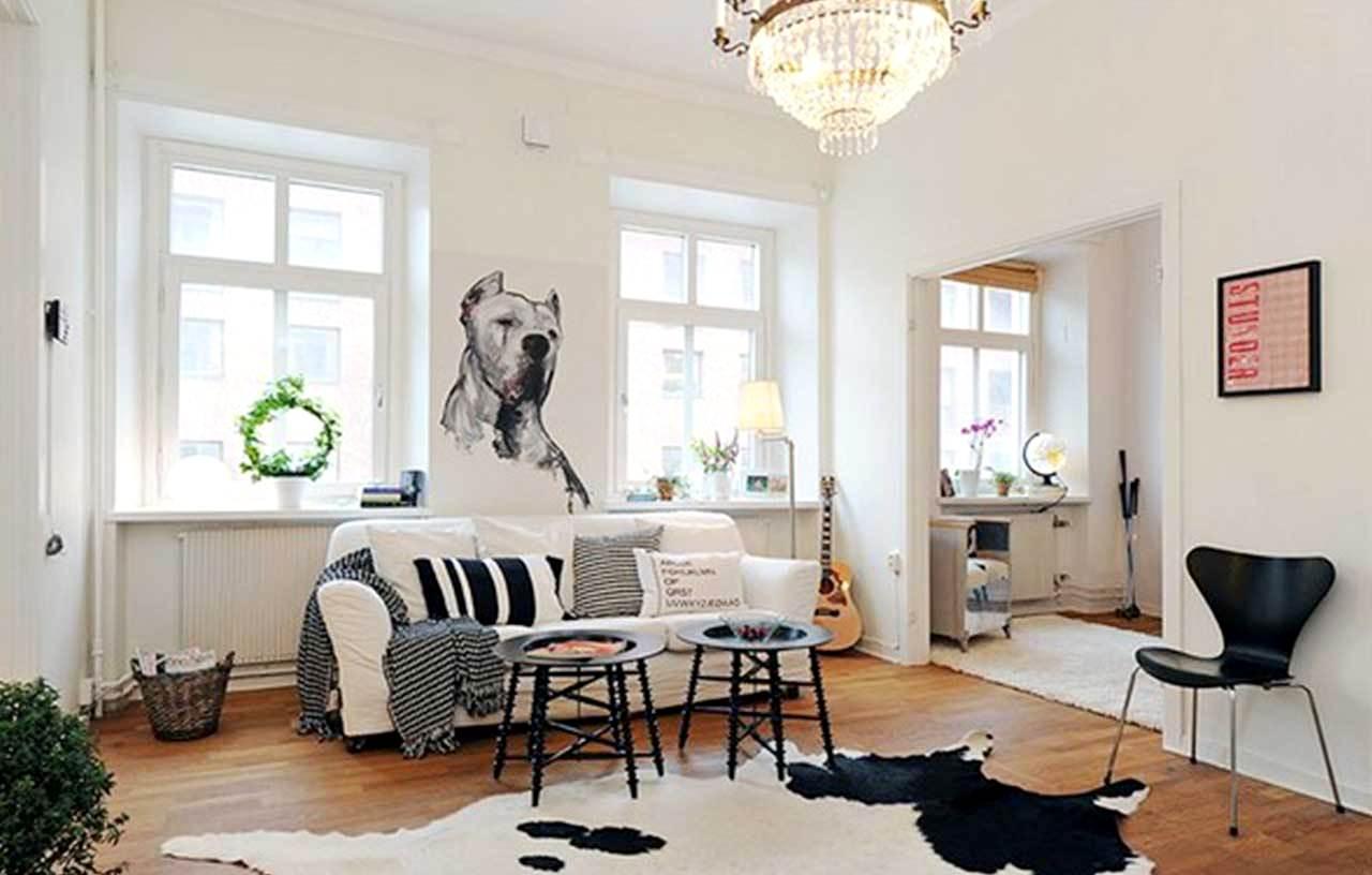 Скандинавский стиль в квартиры