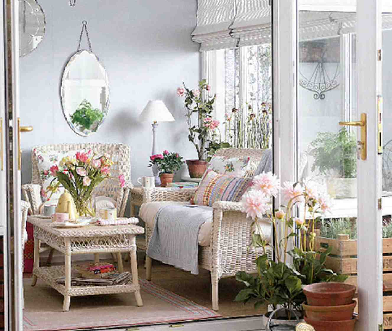 Aesthetic landscape - How to decorate with spring flowers ...