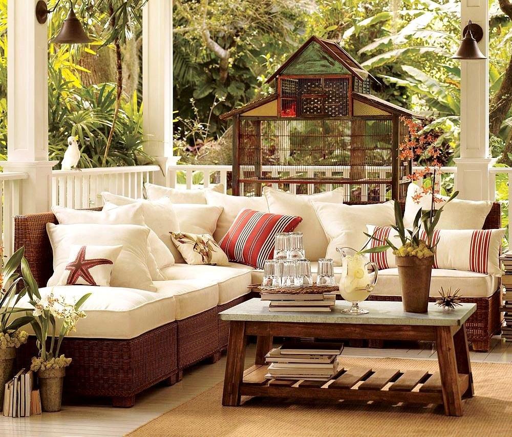 купить плетеную мебель для дачи