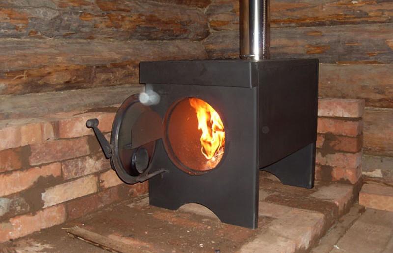 печь для дачи установка2