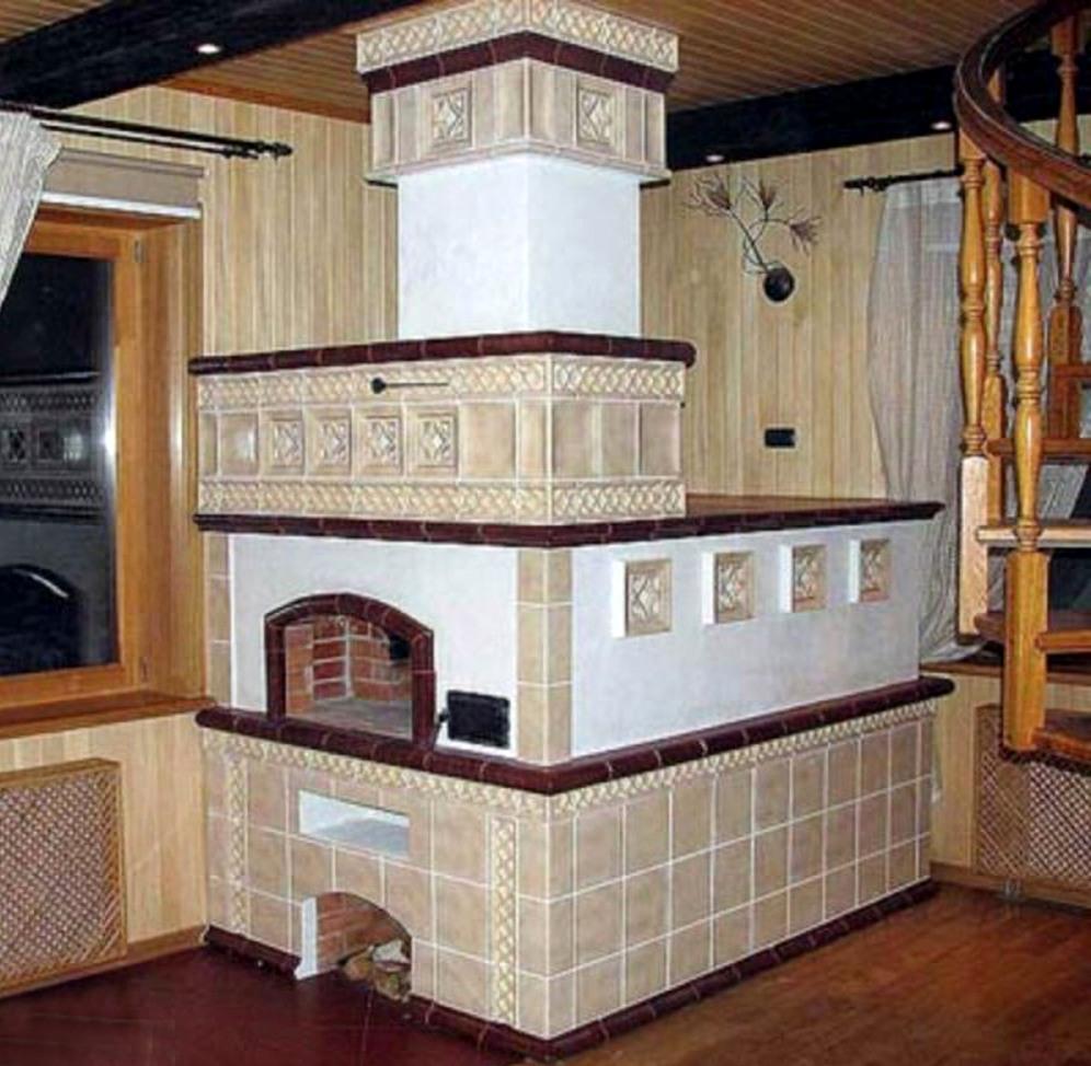 русская печь для дачи