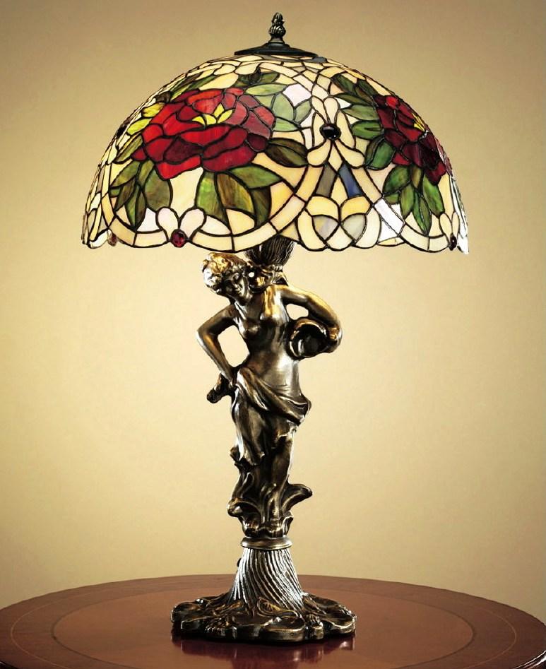 светильник витражи тиффани