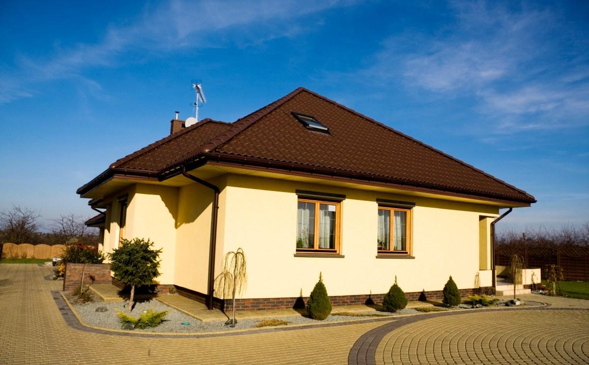 Декоративная фасадная штукатурка для облицовки дома