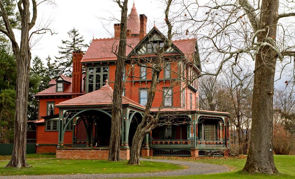 английский викторианский стиль дома