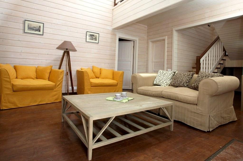 дизайн интерьера дома из бруса2