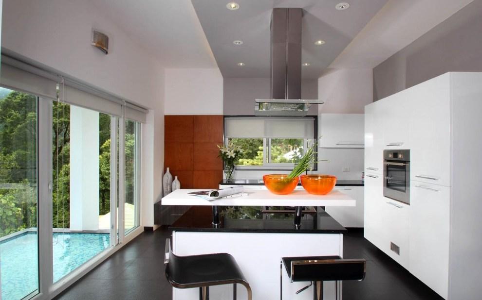 дизайн проект проходной кухни