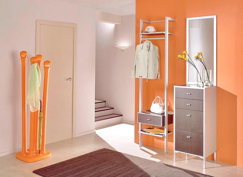 дизайн интерьера прихожей в доме маленькая