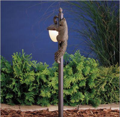 садовое освещение фонарь