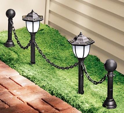 садовые солнечные фонари