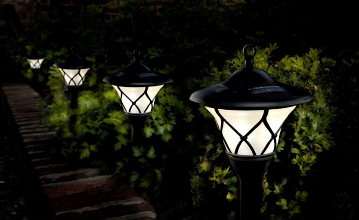 садовые солнечные фонари2