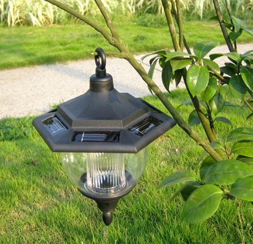 садовые фонари солнечные