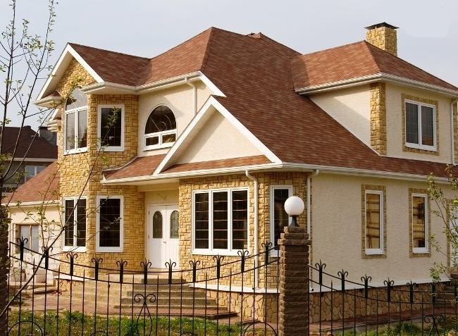 фасадная плитка для облицовки дома