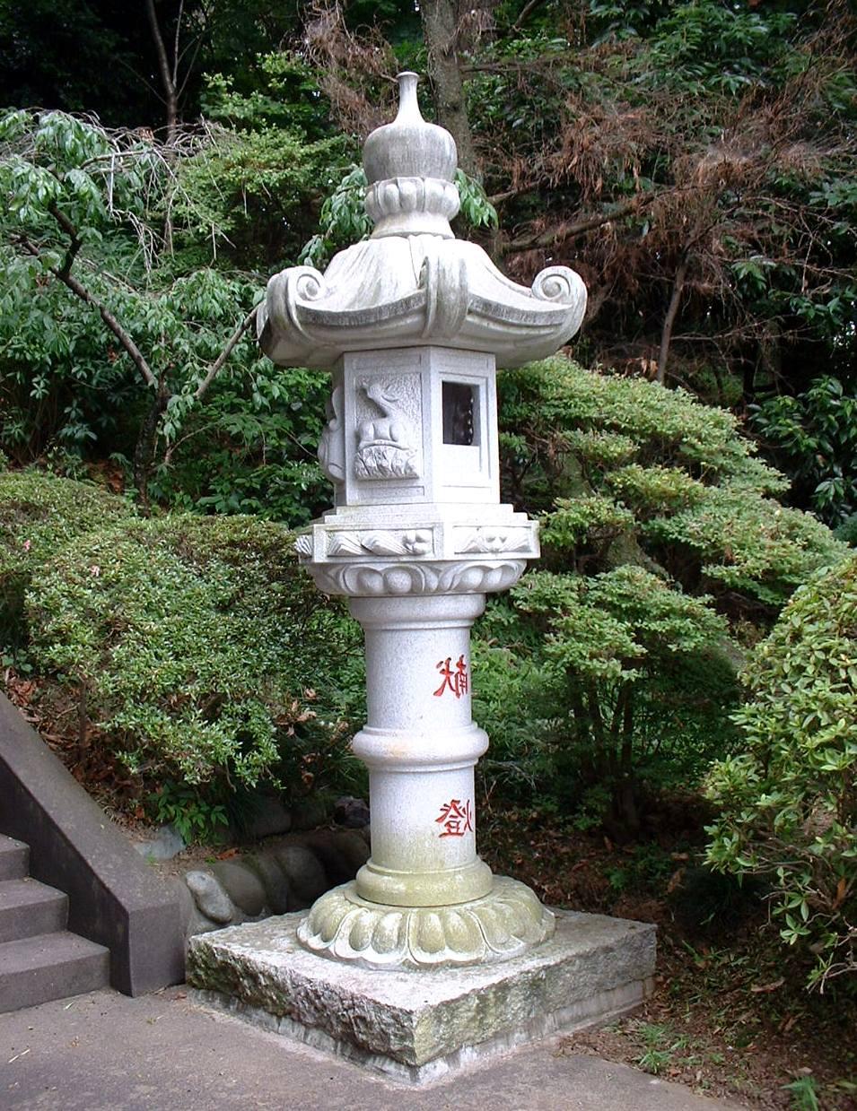 японский садовый фонарь Катцуга