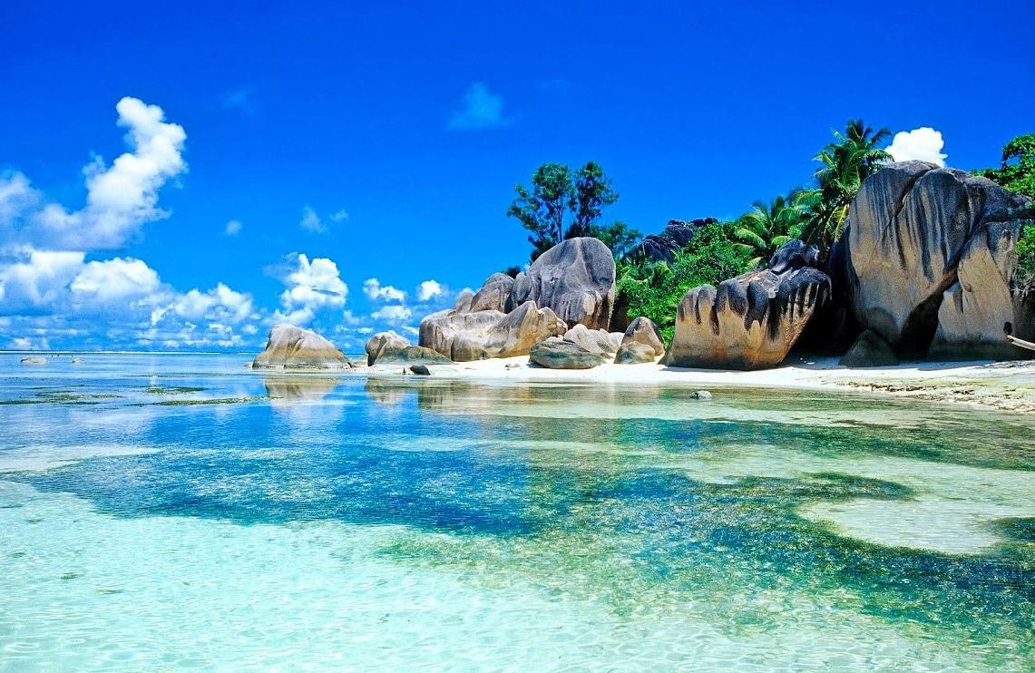 Anse Source D'Argent лучшие пляжи мира