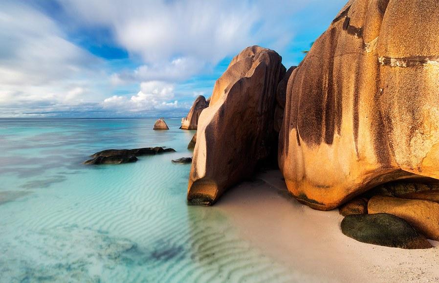 Anse Source D'Argent пляжи мира
