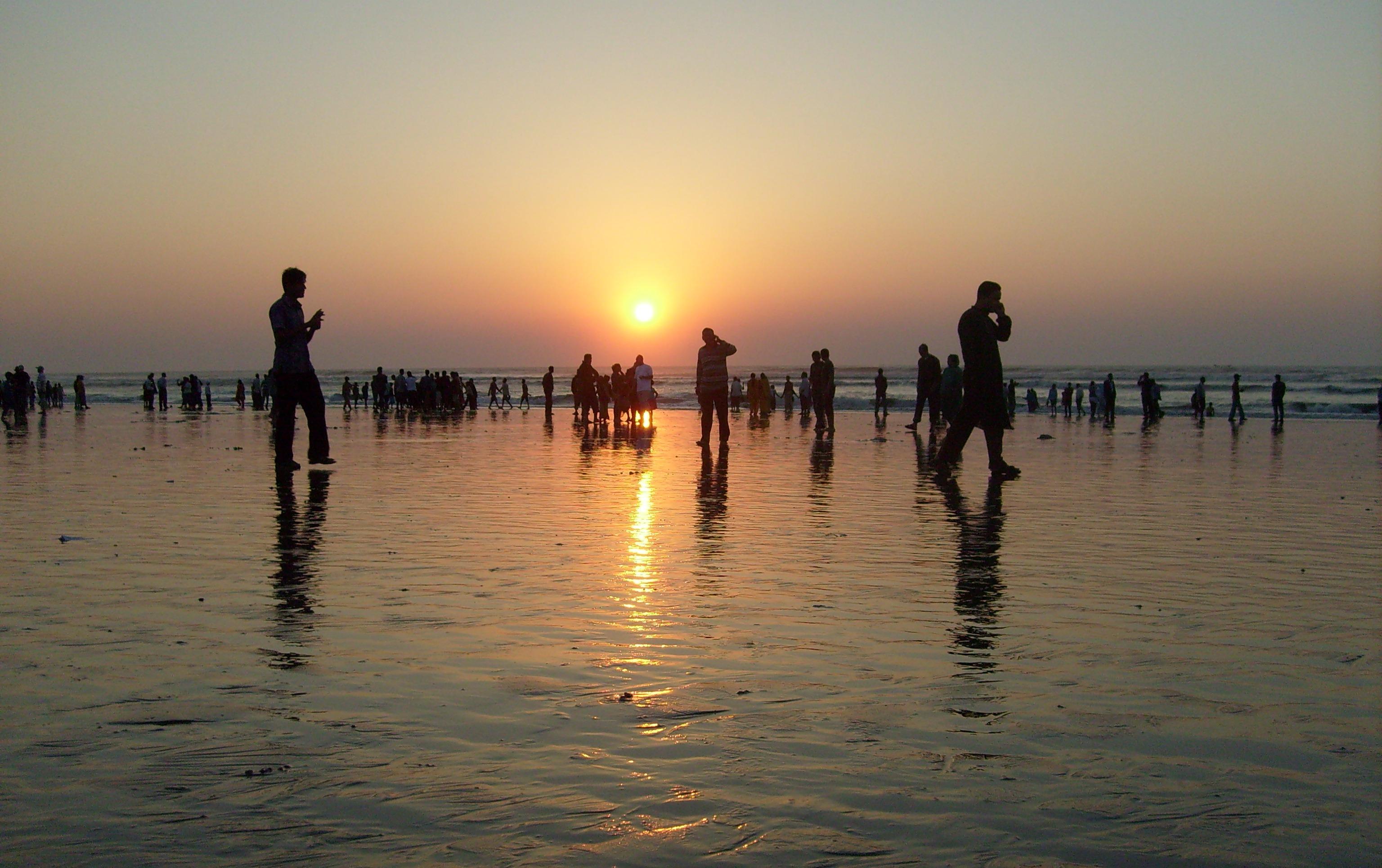 Cox's Bazar закат