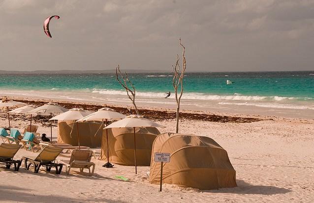 Pink Sands Beach Багамы