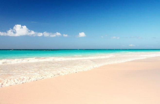 Pink Sands Beach багамские острова пляж