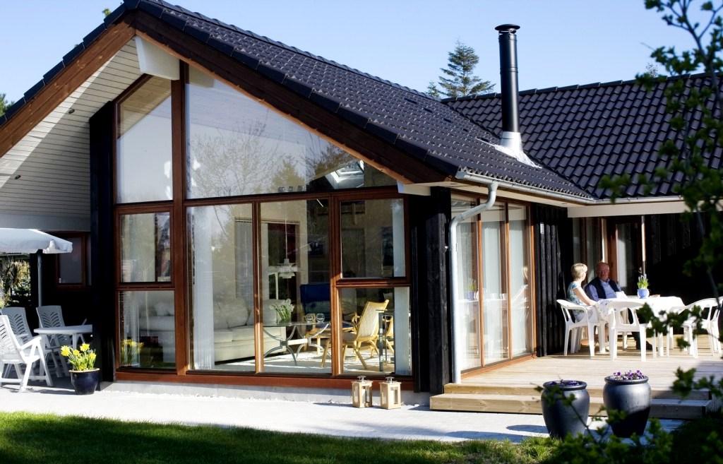 Деревянные дома в скандинавском стиле