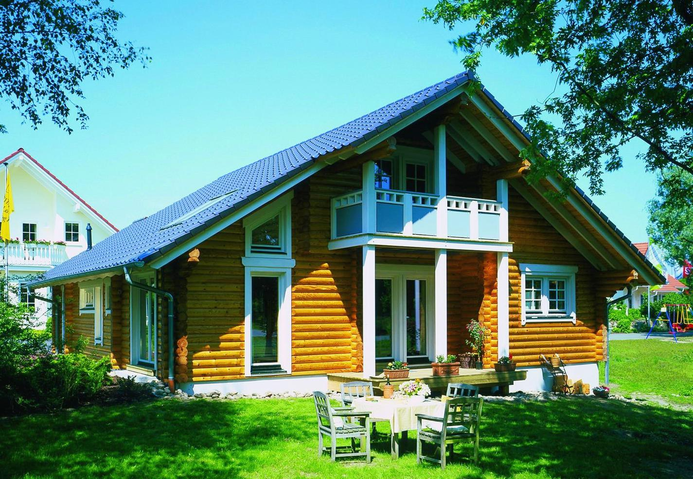 Деревянные дома в скандинавском стиле2