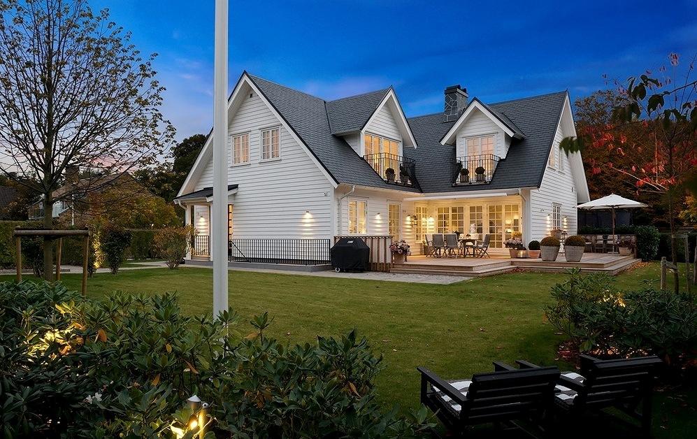 Деревянные дома в скандинавском стиле3
