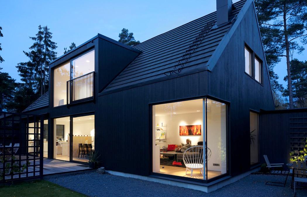 Деревянные дома в скандинавском стиле4