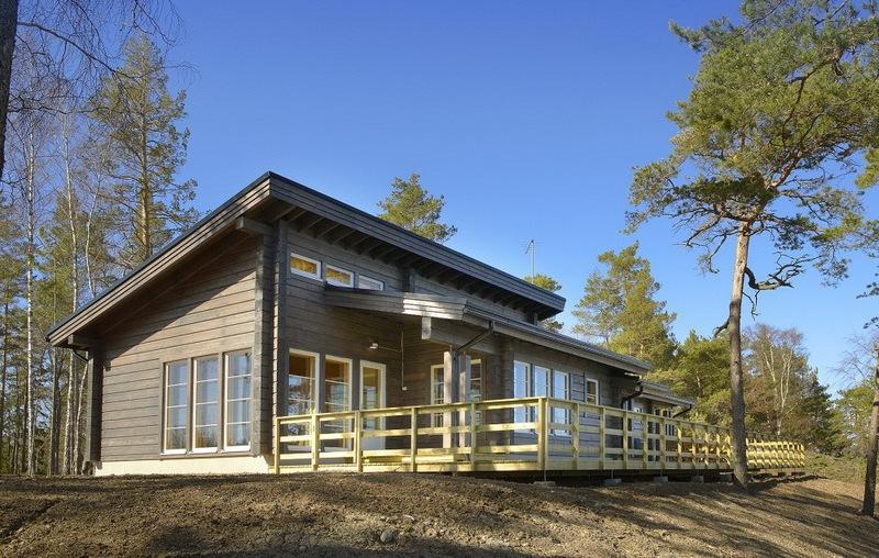 Деревянные дома в скандинавском стиле5