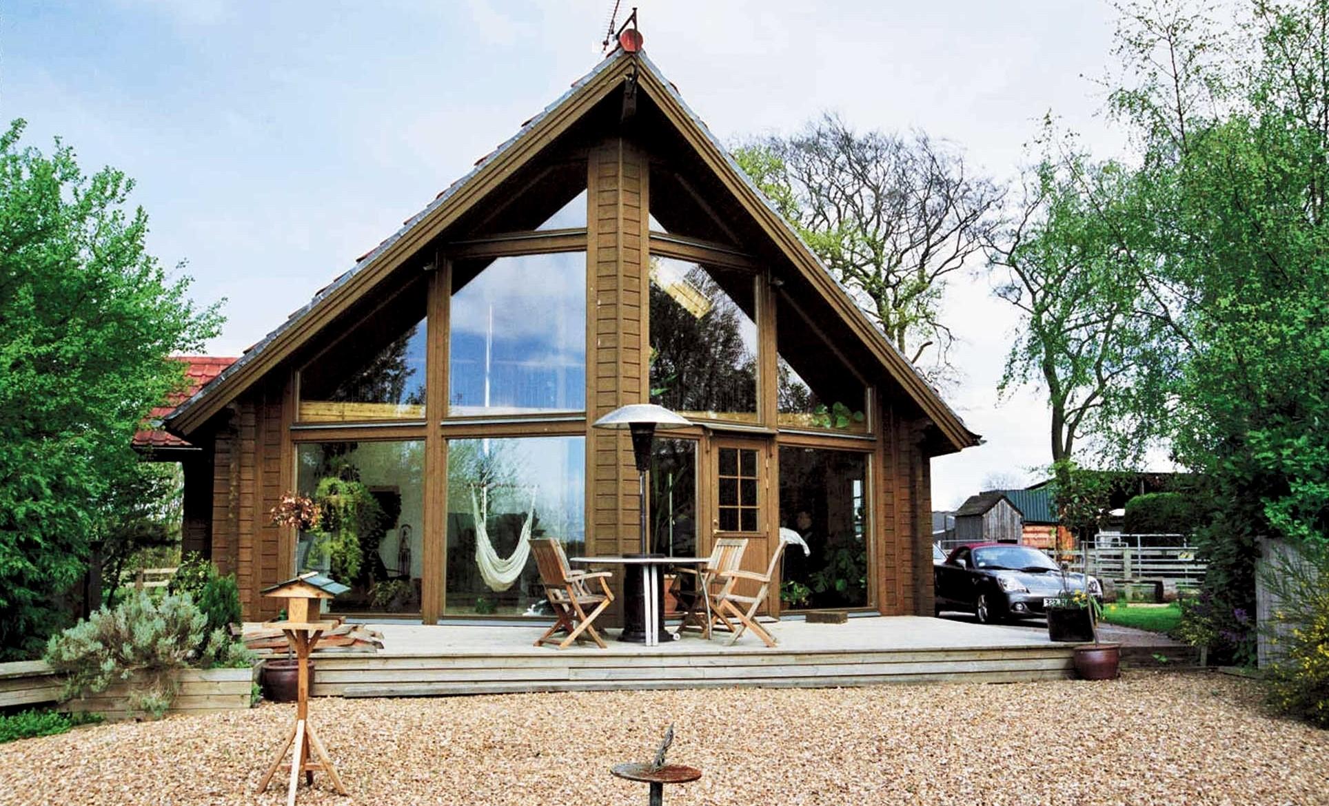 Деревянные дома в скандинавском стиле6