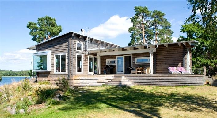 Деревянные дома в скандинавском стиле7