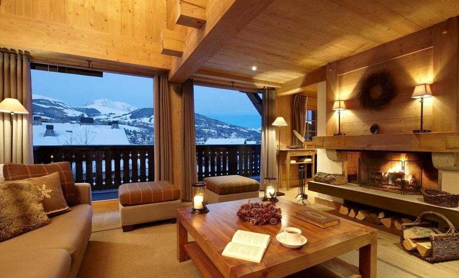 Дизайн интерьера деревянного дома 2