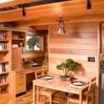 Дизайн интерьера деревянного дома 5