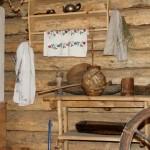 атрибутика деревянного дома в русском стиле