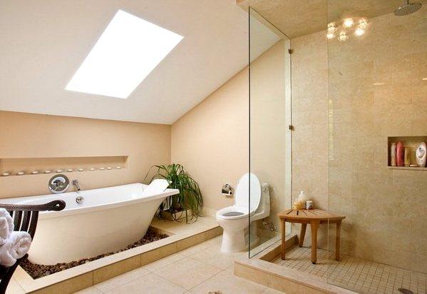 ванная на мансарде 2