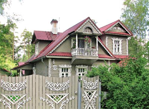 дача в русском стиле