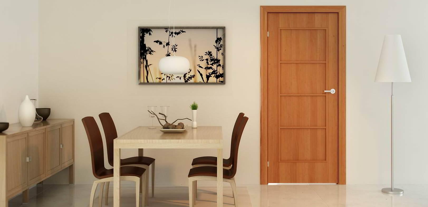 двери деревянные в интерьере2