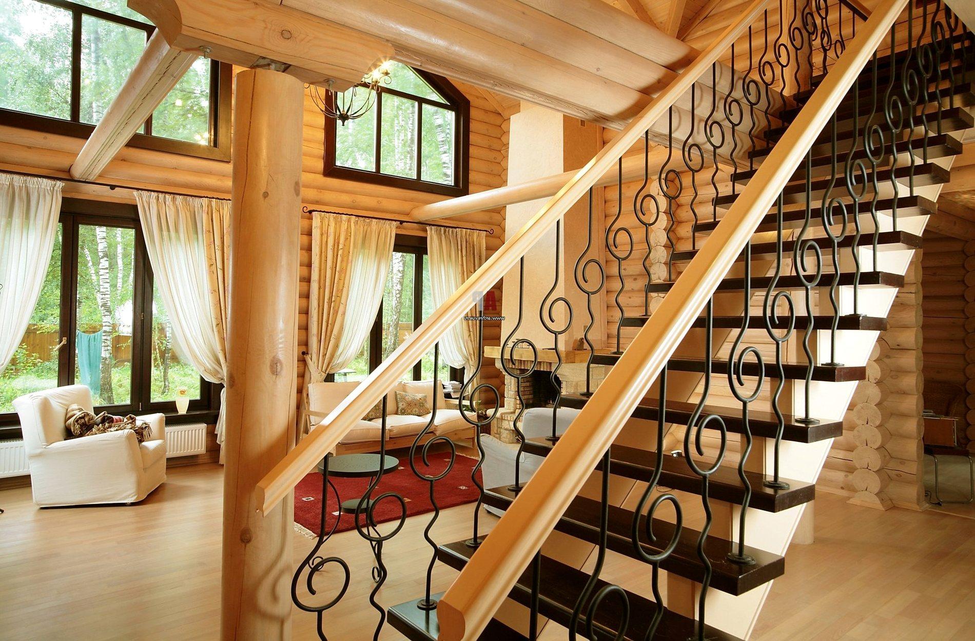 деревянная лестница 1